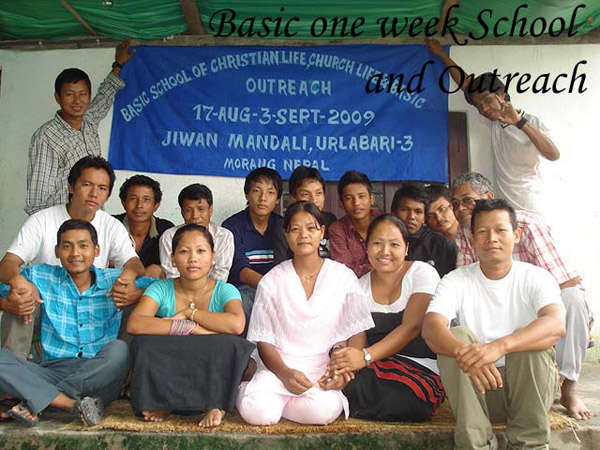 Bible School 2009 in Urlabari in Nepal