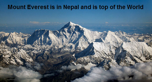 Beautiful Mount Everest